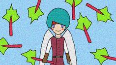 Angel Hero And Rhubarb / #HVGAW #nHD #Boy #Food #Vegetable