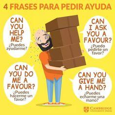 Spanish Phrases, Spanish Vocabulary, English Phrases, How To Speak Spanish, English Words, Teaching Spanish, Teaching English, Learn Spanish, English Speaking Skills