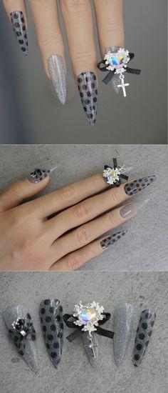 Bridal Dotting lace nail sticker/Circle Dots 3D Nail Art Stickers Self Adhesive Decals/ Gorgeous Full Piece Ultra Thin Nail polish UV gel 3d Nail Art, 3d Nails, Thin Nail Polish, Lace Nails, Nail Supply, Nail Art Stickers, Heart Jewelry, Uv Gel, Dots