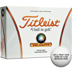 Golf Balls are a great gift for any golfer on your shopping list! #EastwoodPinPals