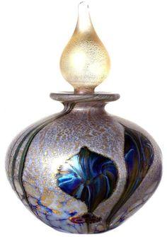 Lapis 9cm tall Eden Glass Perfume Bottle - Price: £85.00