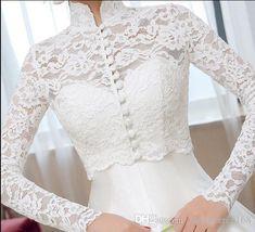 Ivory Jacket Unbranded Bridal Wraps & Jackets for sale Wedding Dress Bolero, Bridal Bolero, Wedding Jacket, Bridal Lace, Wedding Dresses, Lace Bolero Jacket, Lace Sleeves, Wraps, Morning Dress