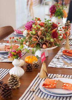 A Sweet Thanksgiving Centerpiece