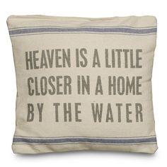 15 in. Heaven is a Little Closer Pillow