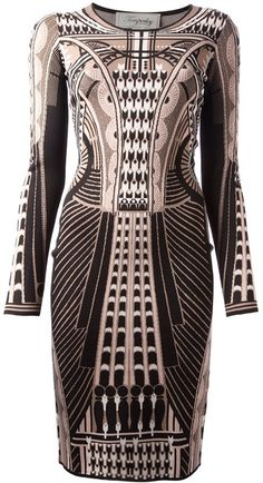 Temperley London Art Deco Dress Art Deco style www.finditforweddings.com