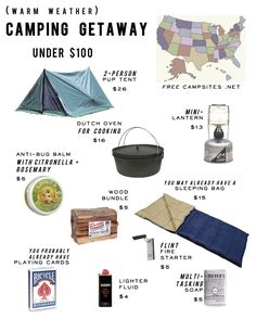 Cheap Camping Ideas - AND THEN WE SAVED
