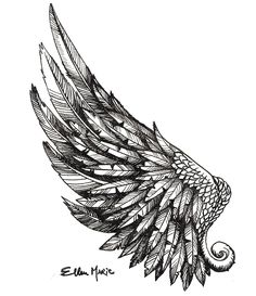 wing tattoo - Поиск в Google