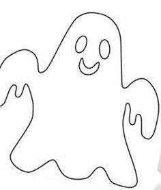 Spookje sjabloon - Knutsel ideeën