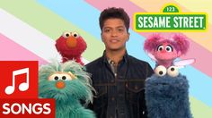 Sesame Street: Bruno Mars: Don't Give Up. i don't care if it is Sesame Street. I will probably play this in a 4th grade class!!!