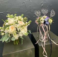 Wedding Party: Flower Girl Wands coordinating with Bridal Bouquet Flower Girl Wand, Flower Girls, Wands, Big Day, Floral Wreath, Bouquet, Wreaths, Bridal, Party