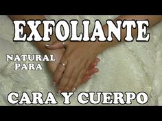 DIY EXFOLIANTE  NATURAL BUENISIMO