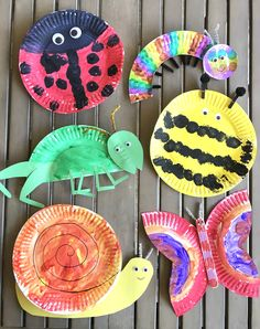 Jun 2019 - For the month of May we have been learning all about bugs. If you have figured out by now, I love arts and crafts. Since my kids are still little the easiest, and super cute, crafts are made out of… Insect Crafts, Bug Crafts, Daycare Crafts, Camping Crafts, Preschool Crafts, Kids Crafts, Camping Ideas, Arts And Crafts For Kids Toddlers, Camping Site