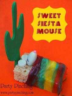 Sweet Siesta Mouse - Rice Krispie Treat mouse