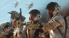 Star Wars: Battlefront - Rebel Soldiers on Jakku
