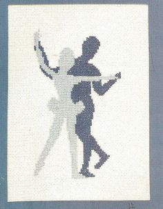 Ballet Dancers Ballerinas Counted Cross Stitch by relativelyretro, $4.49