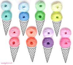 De nieuwe kleuren DMC Natura Yummy zijn om van te smullen! 16 prachtige vrolijke kleurtjes, super zacht en ideaal voor baby- en kinderkleding. Bekijk hier.