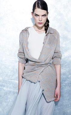 Schella Kann Kollektion F/S 2014 Bell Sleeves, Bell Sleeve Top, Shapes, Summer, Tops, Women, Fashion, Moda, Summer Time