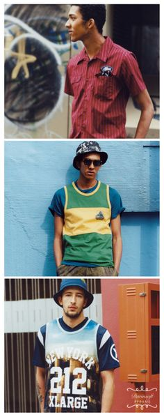 XLARGE offers an exclusive glimpse at its 2014 summer lookbook. For this collection, the NY streetwear label chose to explore the beauty behind weathered looks with its array of printed tanks, tees and shorts.