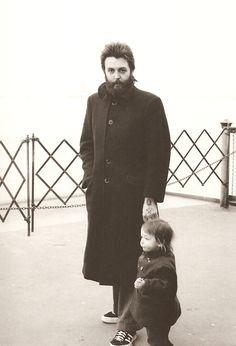 Paul McCartney and son . . . beautiful!