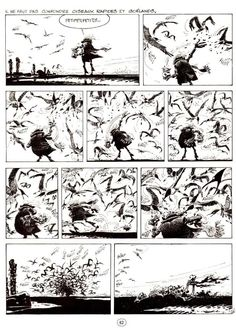 Black thoughts by André Franquin