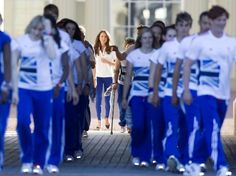Kate Middleton Photo - Will, Kate and Harry receive the Olympic Torch