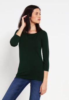 Zalando Essentials Sweter - dark green za 75,2 zł (08.10.16) zamów bezpłatnie na Zalando.pl.