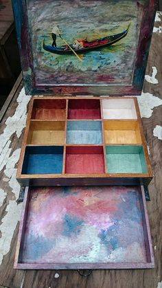 Venice jewellry box by Desyhandmade on Etsy
