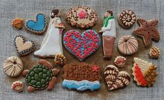 hawaiian decorated cookies | hawaii to have this platter of hawaiian themed decorated sugar cookies
