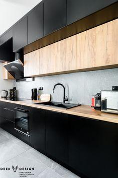 Kitchen Cupboard Designs, Kitchen Room Design, Home Room Design, Kitchen Cabinetry, Home Decor Kitchen, Interior Design Kitchen, Loft Kitchen, Contemporary Kitchen Design, Cuisines Design
