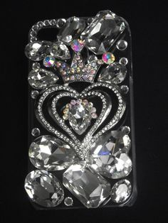 Crown & Heart Phone Case