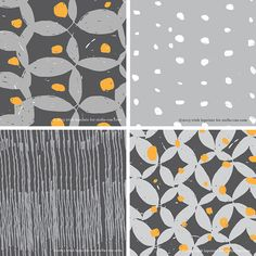 Stella and Rae surface pattern design   Organic   http://stellaandrae.com/
