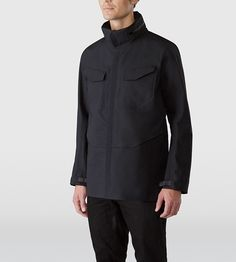 Arc'teryx Field Jacket | A staple in the Veilance line up, the classic field jacket has undergone a few minor revisions such as updated textiles