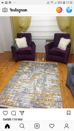 Rugs, Instagram, Home Decor, Farmhouse Rugs, Homemade Home Decor, Types Of Rugs, Interior Design, Home Interiors, Carpet