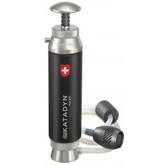 The Katadyn Pocket Emergency Series Water Filter (great for hiking, durable, long-lasting filter)