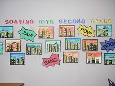 Mrs. T's First Grade Class - I adore this...What an amazing idea!