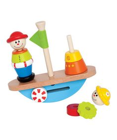 Loving this Balance Boat Game on #zulily! #zulilyfinds