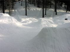 How to Build a Backyard Snowboard Park #stepbystep