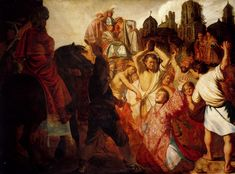 Rembrandt, The Stoning of St. Stephen, 1625