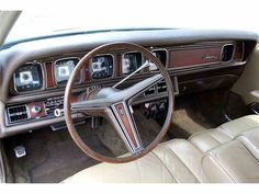Classy dash from the Mark III