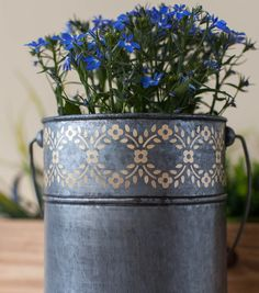 How To Make A Flower Pail