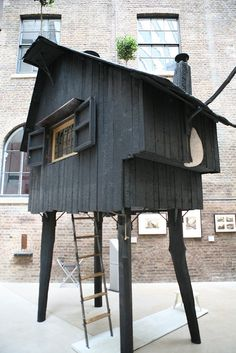 Tiny Cabins, Tiny House Cabin, Cabins And Cottages, House 2, Off Grid, Architecture Details, Beautiful Architecture, Pole House, Backyard Studio