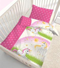 Kätzchen 2 Tlg Kinderbettwäsche Bettwäsche Rosa Katze Mädchen Kinder Pink