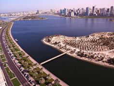 Sharjah City a sister city to Dubai and Ajmân (two fellow emirates) on both its borders. The three urban areas have now expanded to each other's borders. Sharjah is about 170 kilometers away from the #UAE capital city #Abu_#Dhabi.
