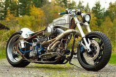 ϟ Hell Kustom ϟ: Harley Davidson By Super Rat