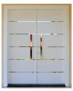 Porta externa laqueada