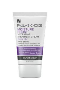 Another great PC eye cream choice, and this one is great under makeup!  Moisture Boost Cream #paulaschoice #fragrancefreeproducts #crueltyfreeproducts