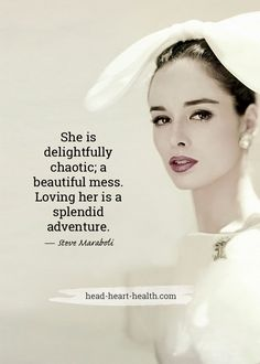 """She is delightfully"