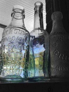 Old Bottles by cazjane97, via Flickr