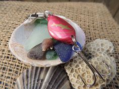 Bottle Cap Fishing Lure (Dogfish Head) by SpunkCo on Etsy