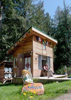 Studio on Saltspring Island, BC